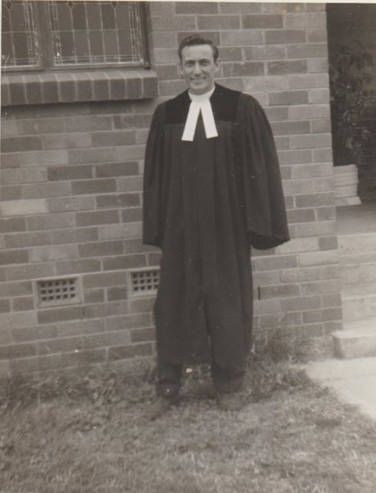 Don ordained at Charleville 1968